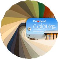 colorbond colour options wheel
