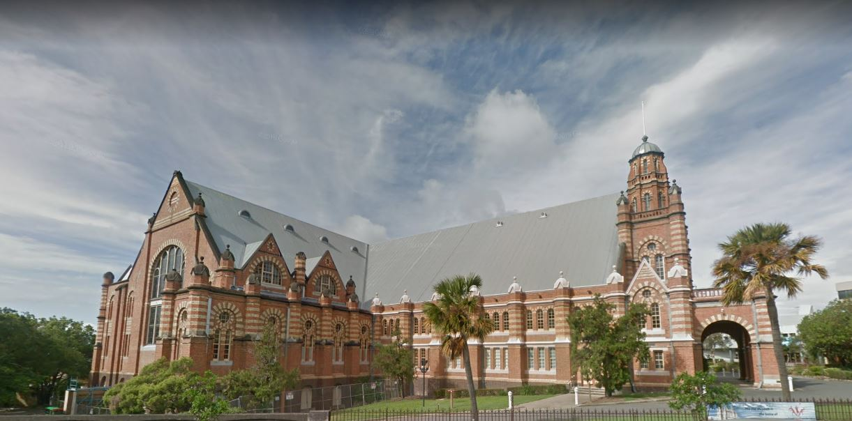 View of Old Museum of Brisbane