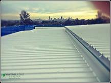 flat metal roof in brisbane