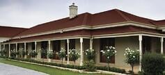 Metal Roofing - Brisbane - Choosing the right colour for your roof Traditional manor red